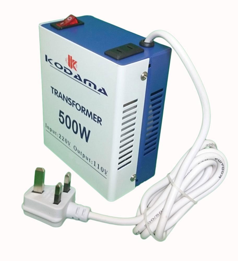 KODAMA Transformer 220V to 110V Power Converter 500 Watt KDT500W_6