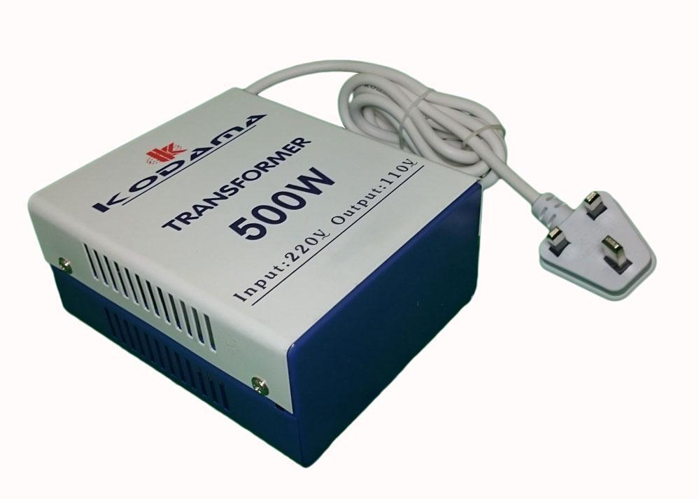 KODAMA Transformer 220V to 110V Power Converter 500 Watt KDT500W_5