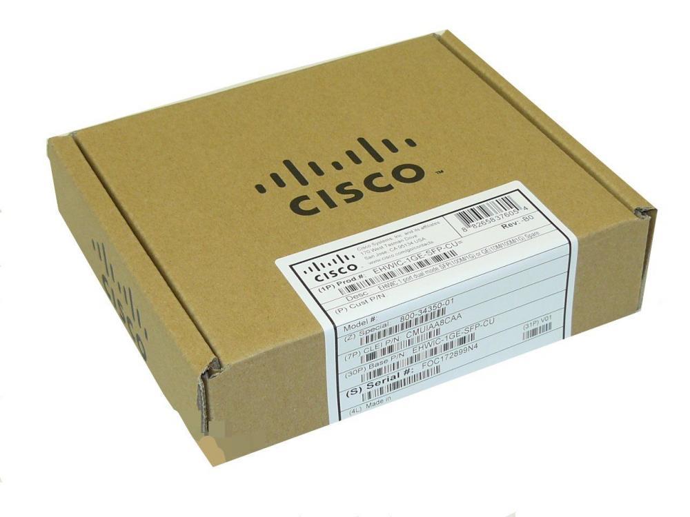 Cisco interface card EHWIC-1GE-SFP-CU_2