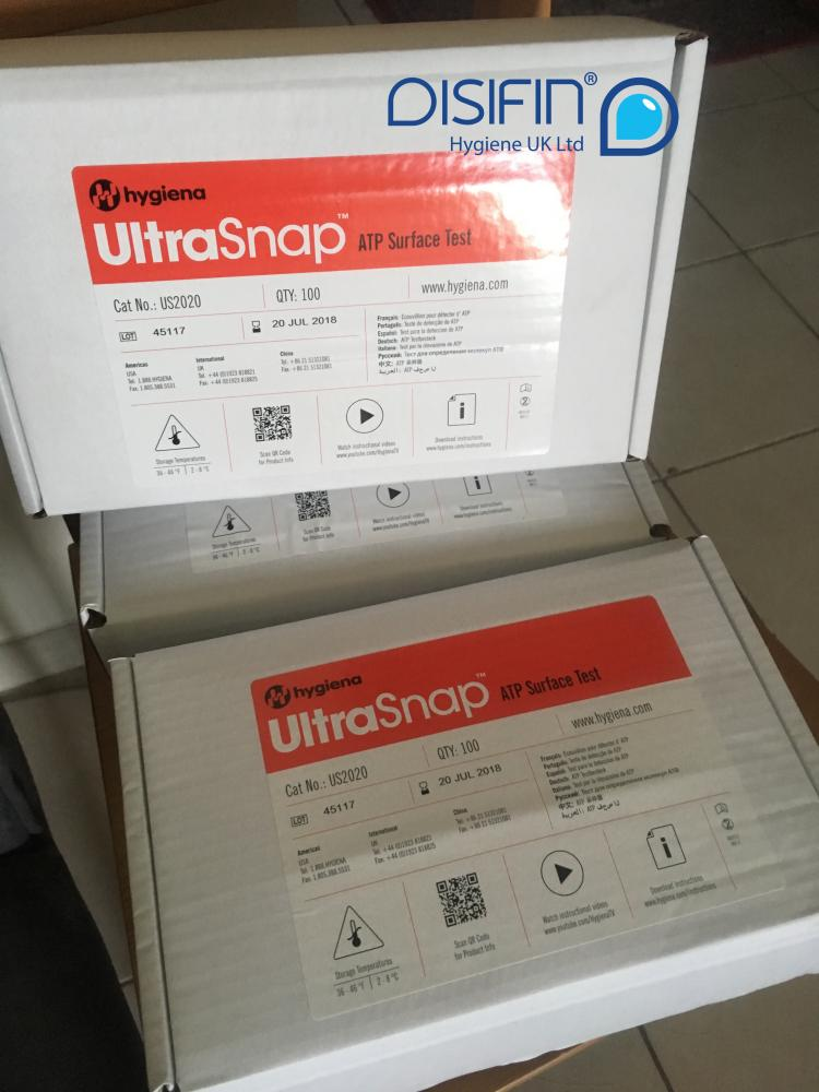 ATP Ultrasnap Surface Swabs - For use with SystemSure Plus Hygiene System Box of 100_2