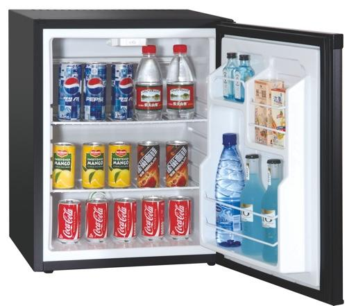 50 Liters Noiseless Minibar Glass Door Foamed Door_3