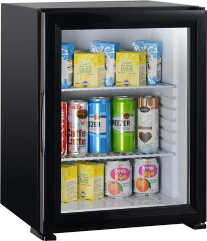 50 Liters Noiseless Minibar Glass Door Foamed Door_2