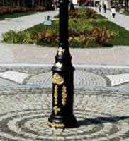 6 Mt Decorative Outdoor Lamp Post Street Lighting Pole_6