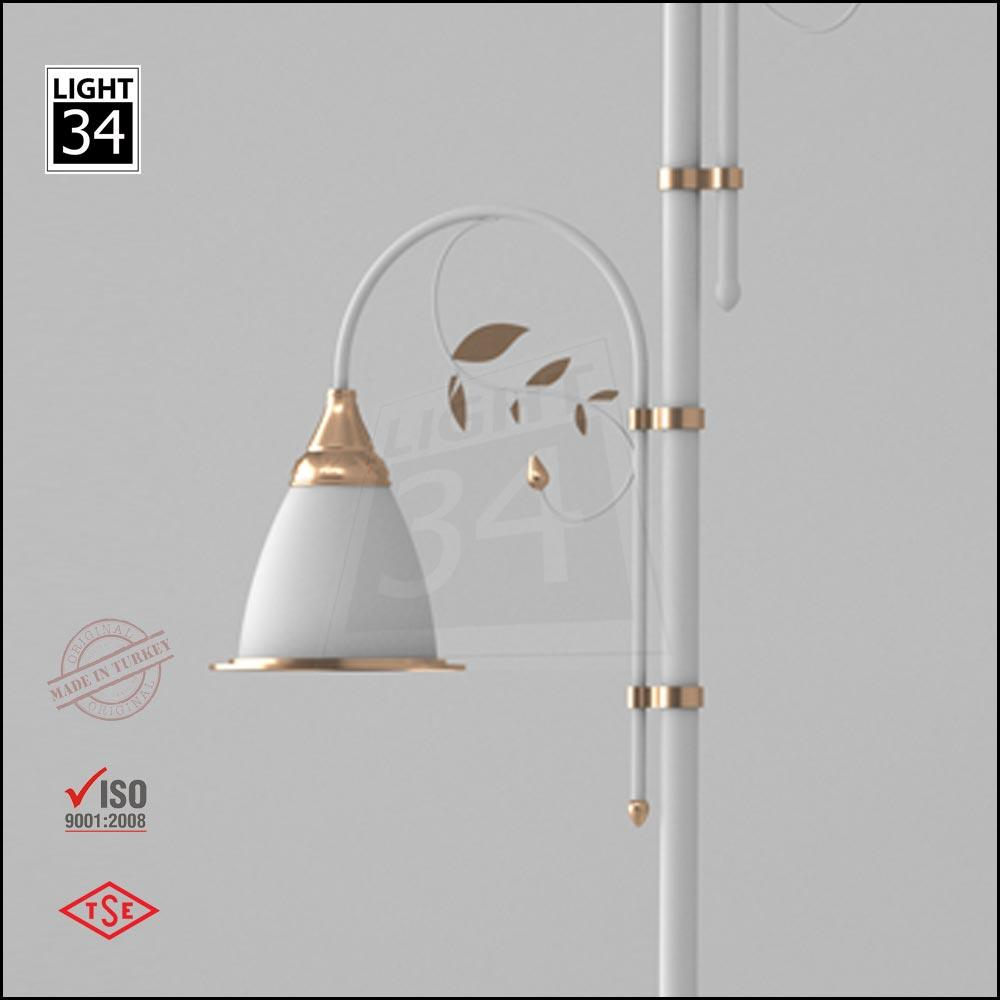 6 Mt Decorative Outdoor Lamp Post Street Lighting Pole_9
