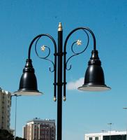6 Mt Decorative Outdoor Lamp Post Street Lighting Pole_7