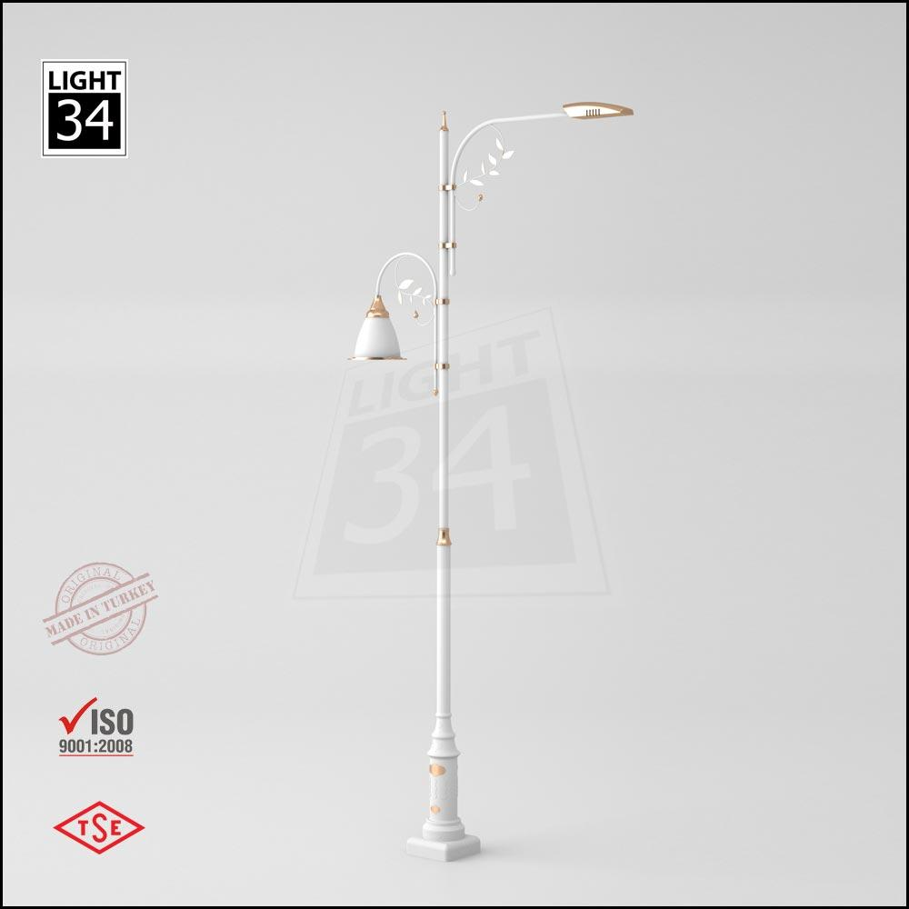 6 Mt Decorative Outdoor Lamp Post Street Lighting Pole_2