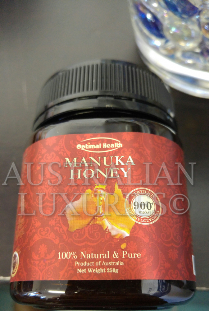 OPTIMAL HEALTH MANUKA HONEY MGO 900 Certified Australian Honey All Natural Anti-Bacterial Health Premium HIGHEST STRENGTH IN WORLD_2