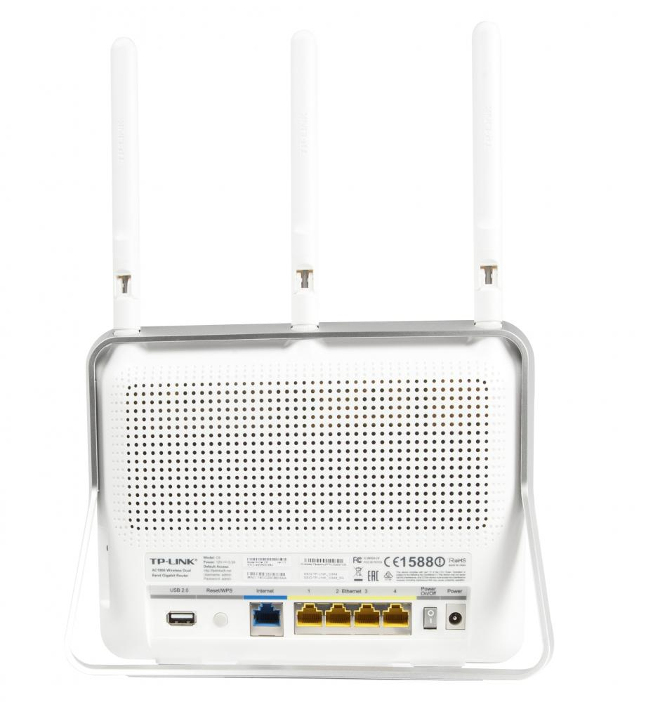 TP-LINK Archer C9 Gigabit Ethernet White wireless router_3