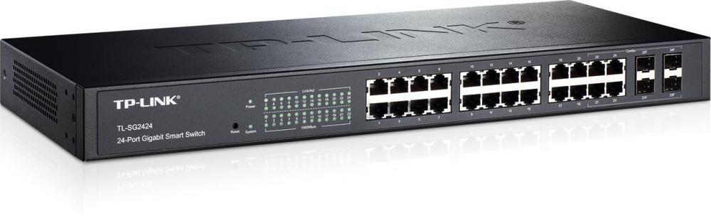 TP-Link 24-Port Gigabit Smart PoE+ Switch with 4 Combo SFP Slots_3