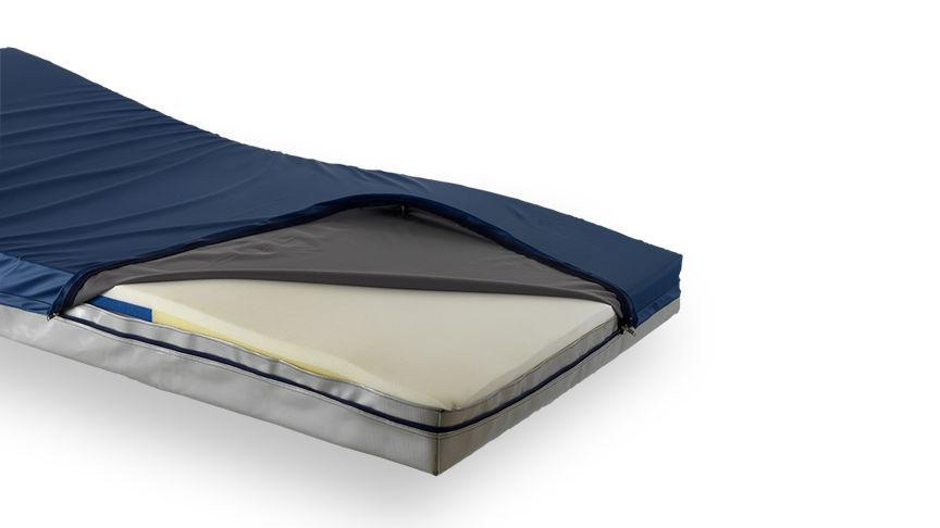 Waterproof Wipe Clean PU Coated Anti Decubitus Medical Mattress Covers with Zipper (Anti Bedsore)_3