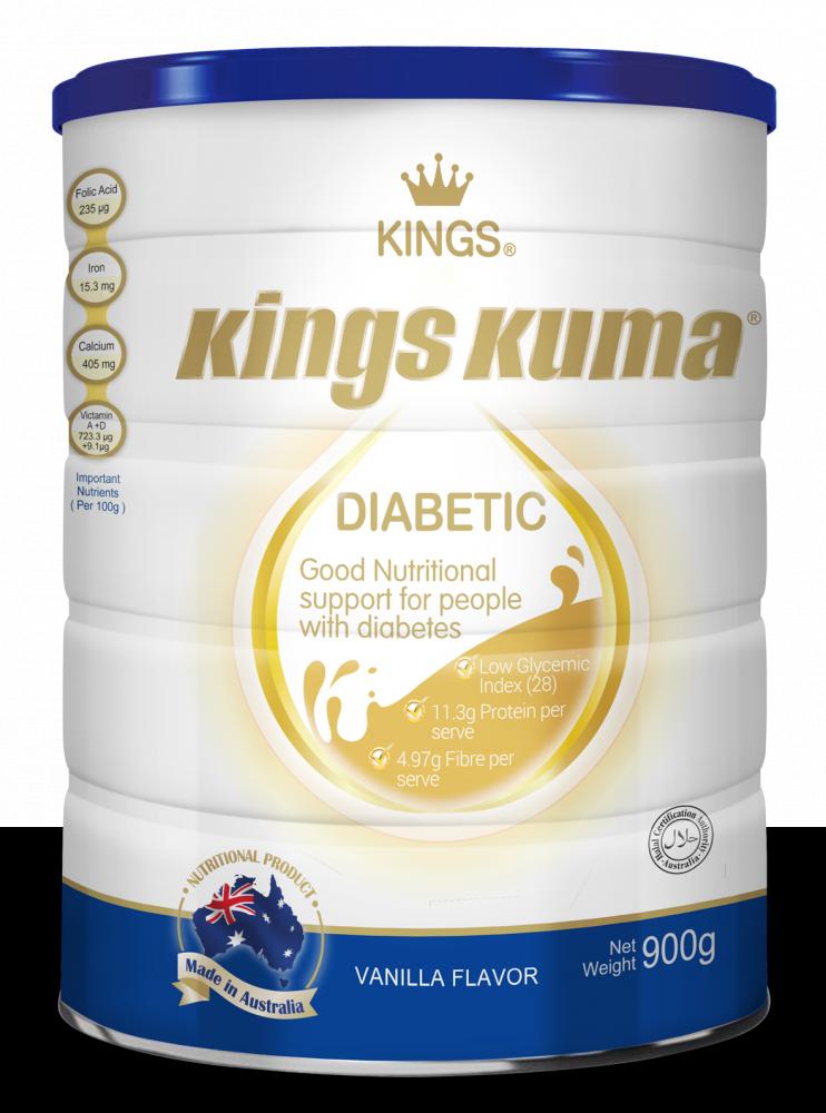 Kings Kuma Diabetic Milk Powder Formula, Supplement_2