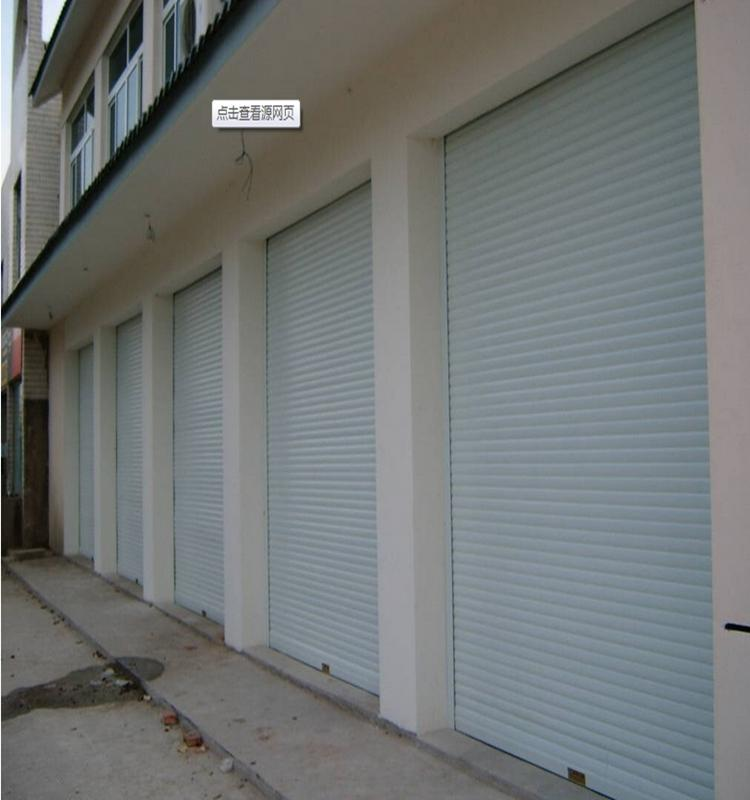Security Door Stainless Steel Automatic Sliding Garage Gate Door_2
