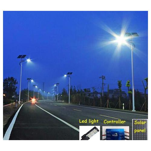 Integrated 90W LED Solar Street Light with Battery Solar Panel_2