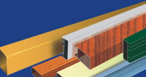A001 Fluorocarbon profiles series Decorative materials_2
