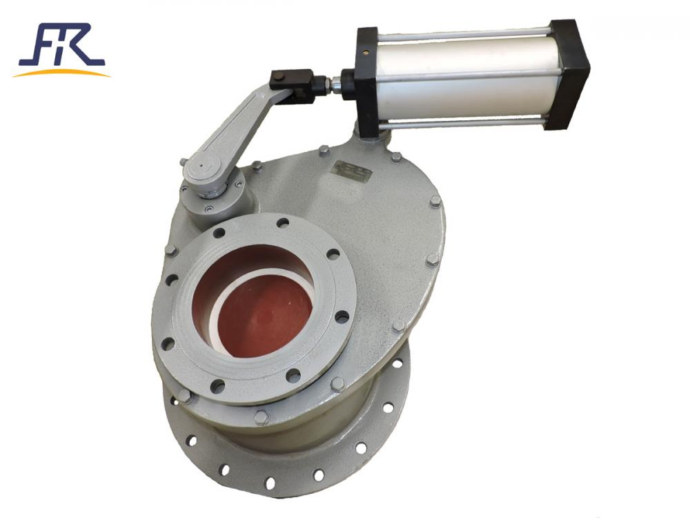 Pneumatic Ceramic Rotary Gate Valve_3