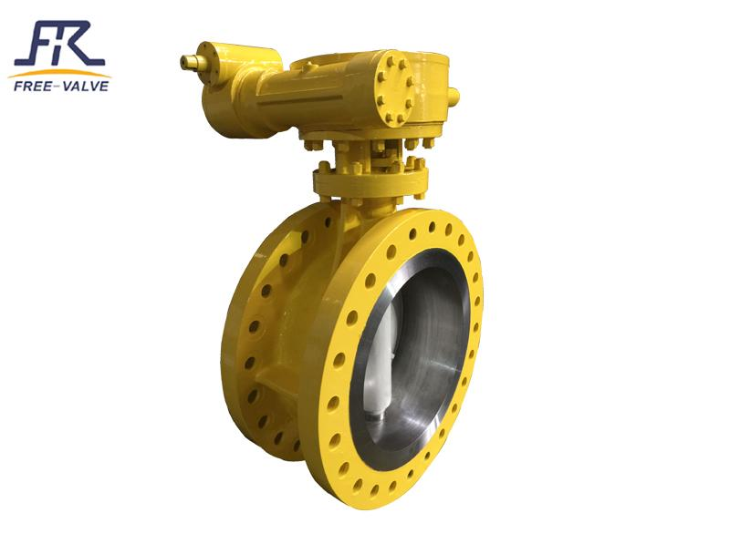 High Performance Butterfly Valve,Double Offset Butterfly Valves_3