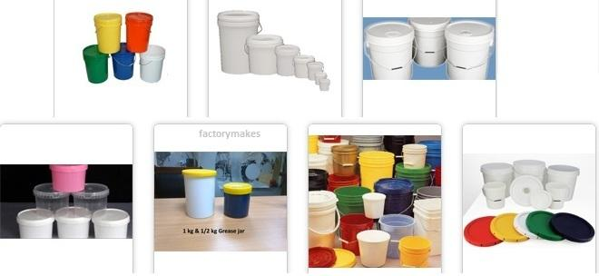 Plastic Bucket Pails 1USG,5USG ,4ltr 10 ltr, 15ltr 20ltr_2