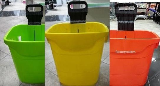 Plastic Trolley for Supermarket, Apple Trolley,Cest Plastic Trolley for Supermarket_3