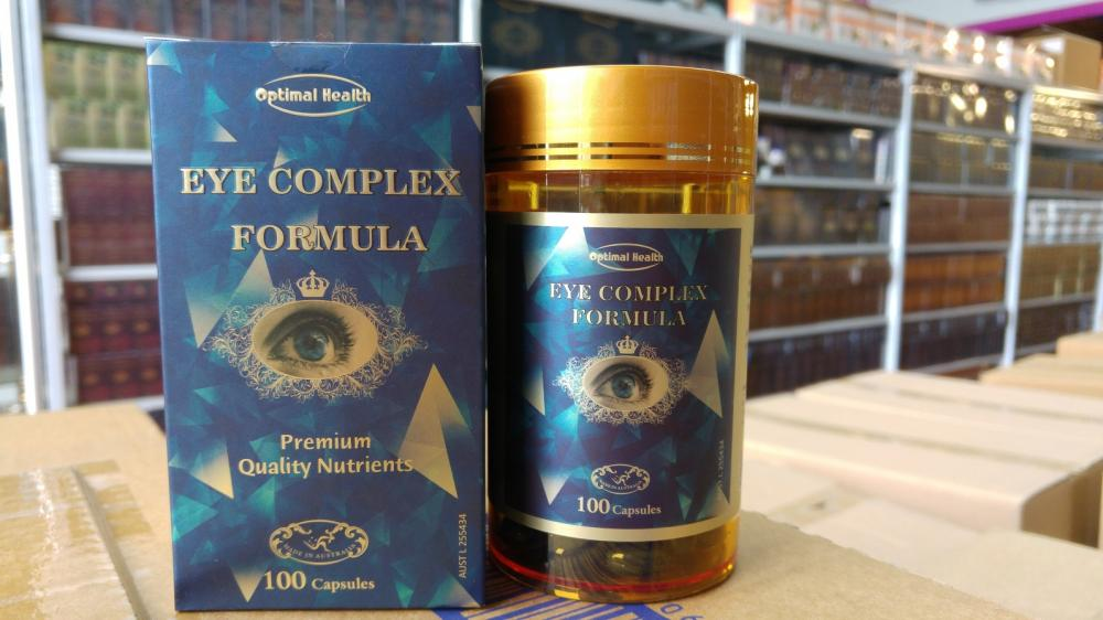 Optimal Health Eye Care Complex 100 capsules MADE IN AUSTRALIA.  GMP Licence._2