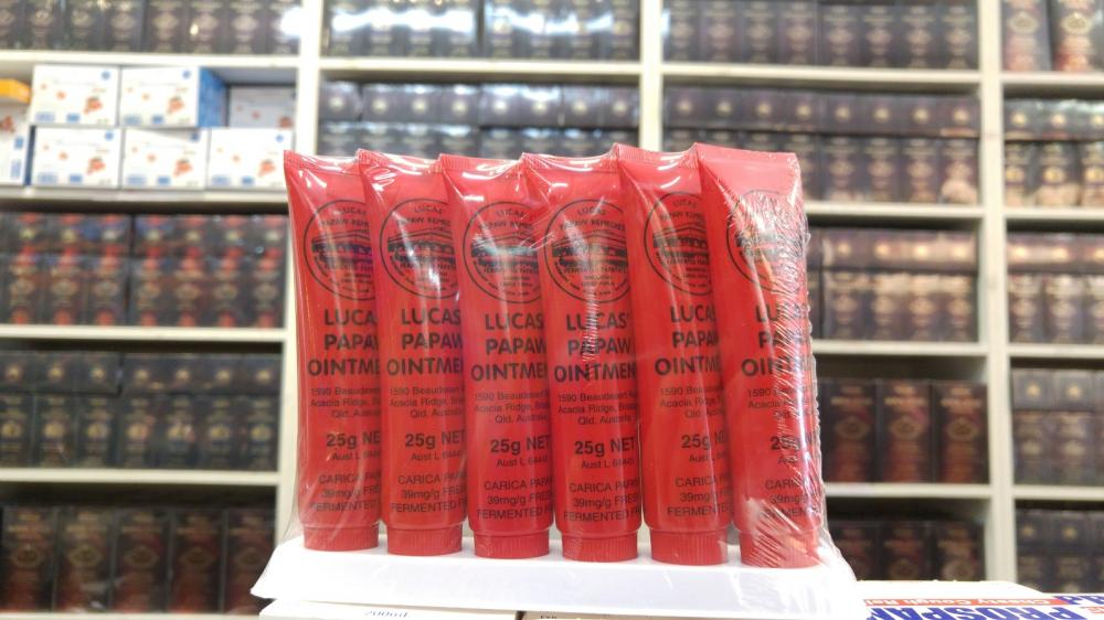 Lucas Papaw 25g Ointment Lip Gloss Balm MADE IN AUSTRALIA TGA Comes in 15g, 75g , 200g_2