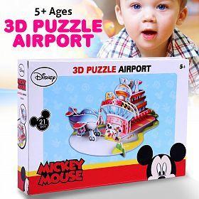 Disney Mickey Mouse 3D Puzzle Airport (DS0919H)_3