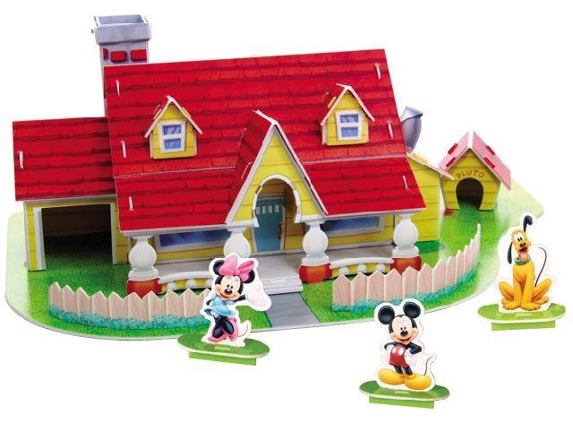 Disney 3D Puzzle House Mickey House, 43 Pcs ( DS0905H)_2
