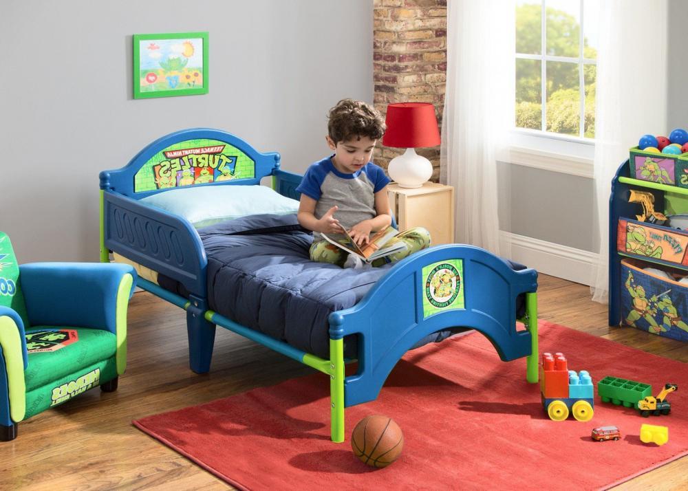 Teenage Mutant Ninja Turtles Plastic Toddler Bed_4