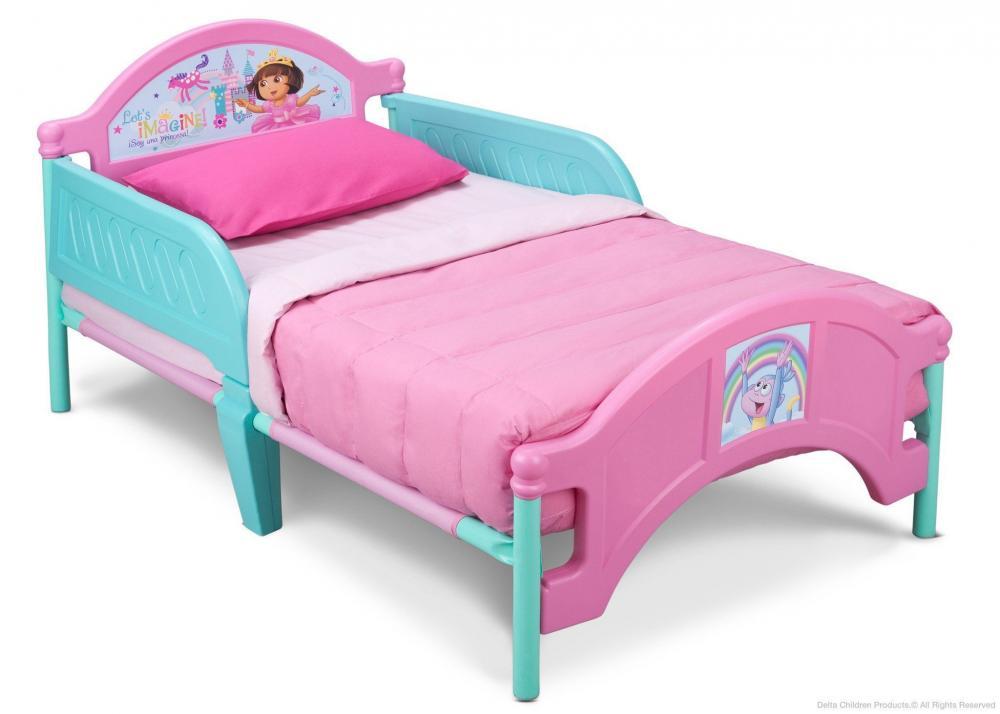 Dora Plastic Toddler Bed_3