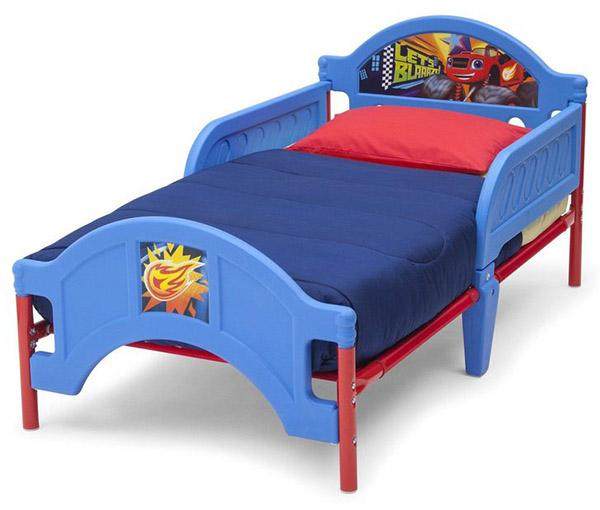 Blaze and the Monster Machines Plastic Toddler Bed_3