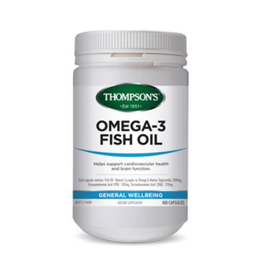 Thompson's Fish Oil 200 Capsules_2