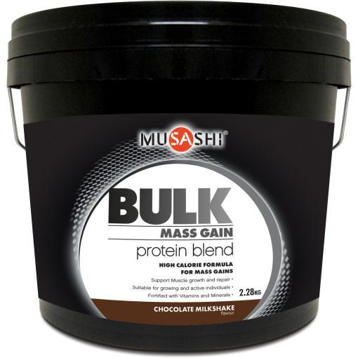 Musashi Bulk Chocolate 2.28kg Protein Powder Milk AUS_2