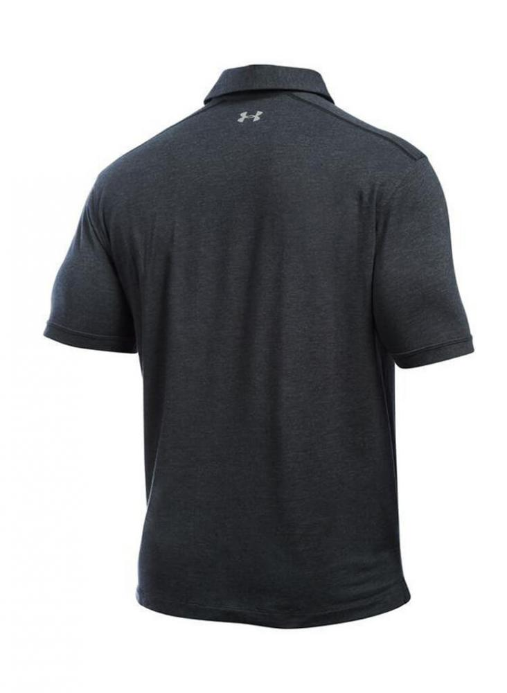 Under armour black polo t shirts for men wholesale id for Bulk under armour shirts