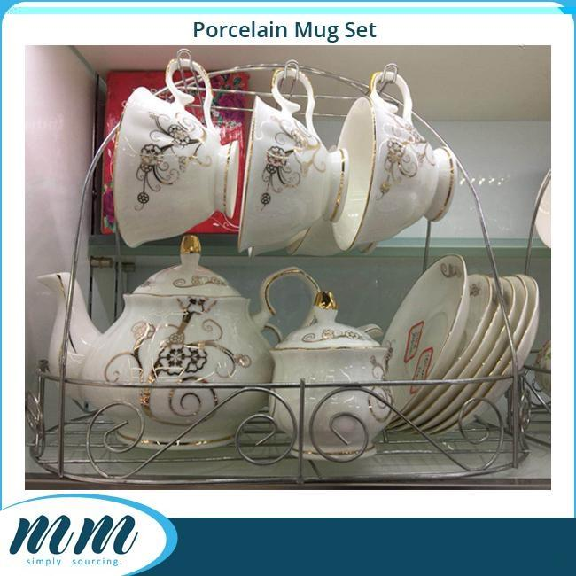 Premium Porcelain Coffee Set & Tea Set_2