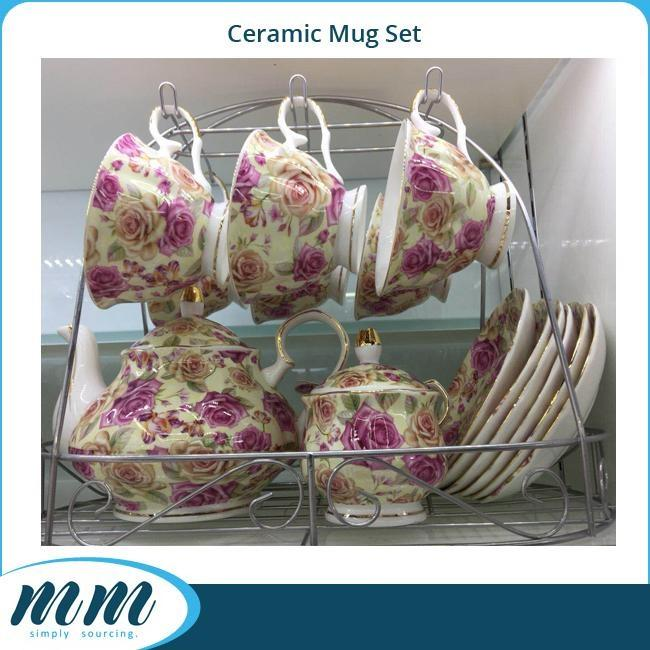 Premium Porcelain Coffee Set & Tea Set_4