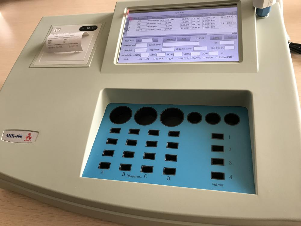 Coagulometer Analyzer_4
