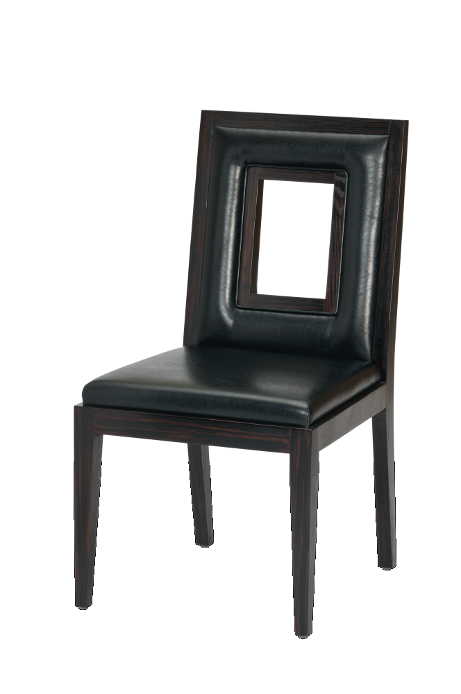 Wooden Upholstered Chair_2