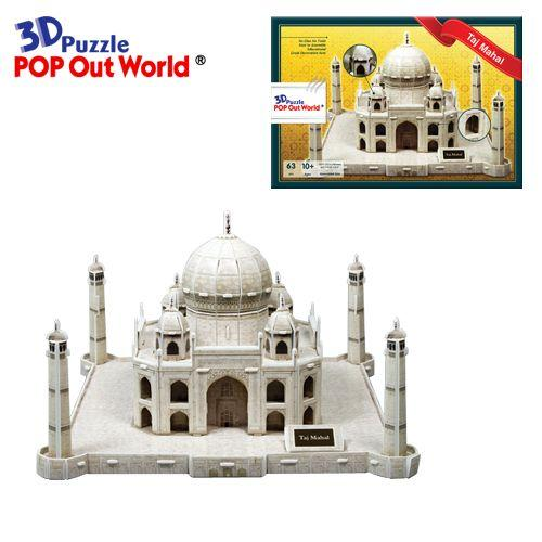 "3D Puzzle POP Out World - ""The Taj Mahal ""_3"