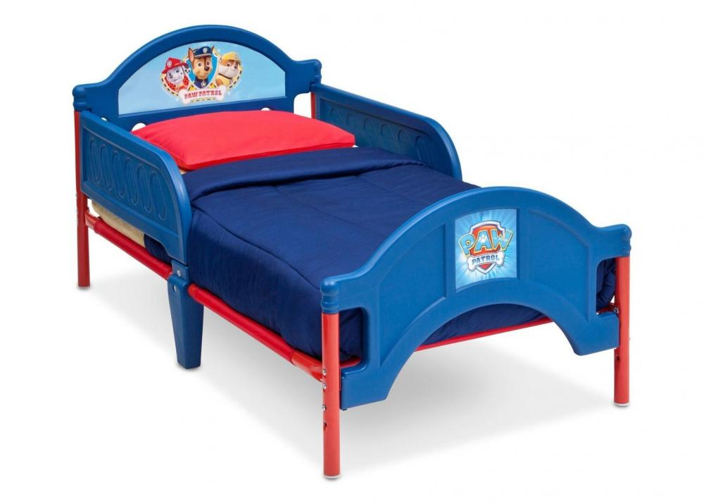 Nickelodeon Paw Patrol Plastic Toddler Bed Children BB86945PW_2
