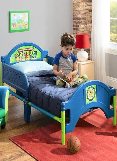 Nickelodeon Teenage Mutant Ninja Turtles Plastic Toddler Bed_2