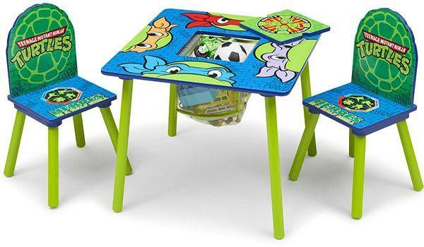 Teenage Mutant Ninja Turtles Table & Chair Set with Storage_3