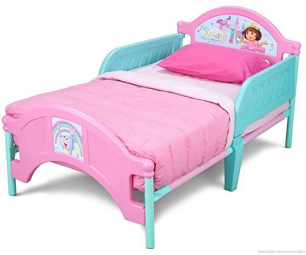 Delta Dora Plastic Toddler Bed_3