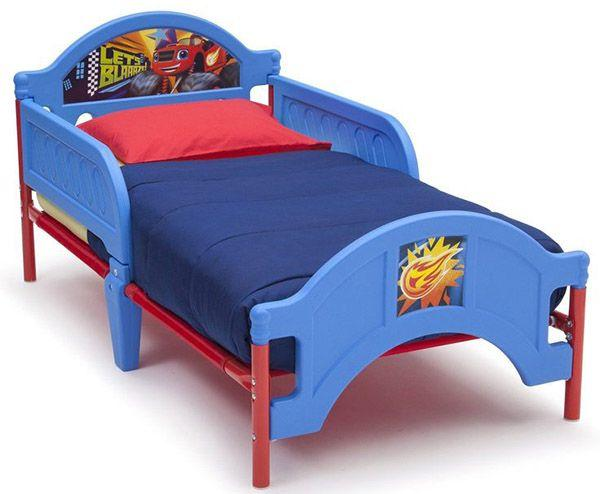 Nickelodeon Blaze and the Monster Machines Plastic Toddler Bed_2