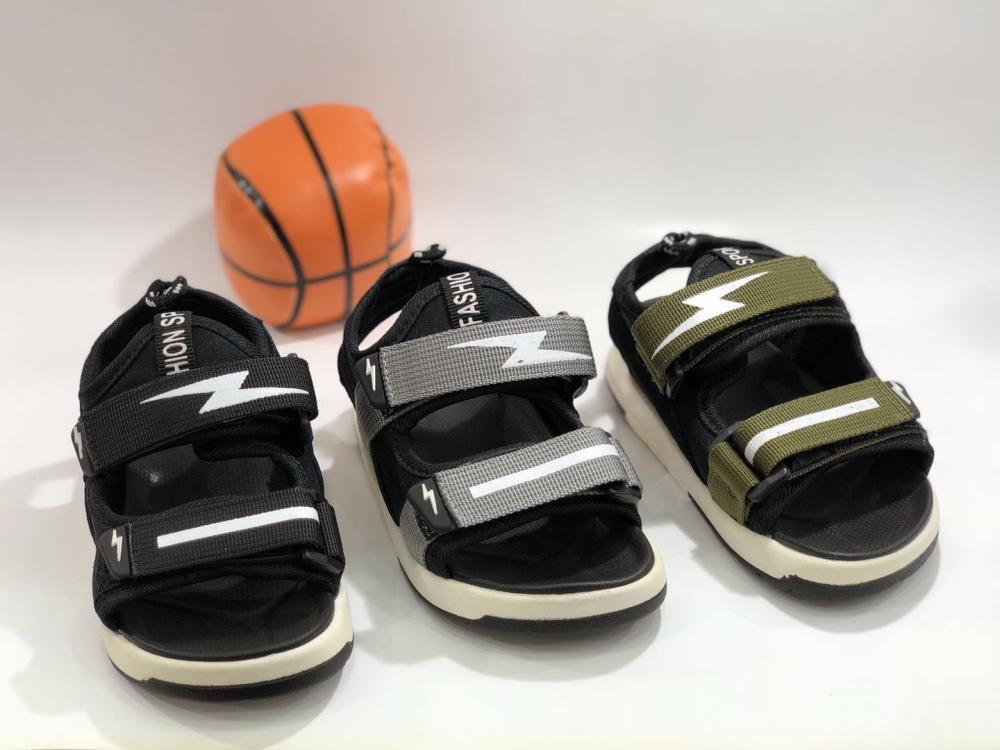 KK Kids Sandals Boy Shoes Children Footwear Velcro  Summer Sports Shoes SKU173231S_2