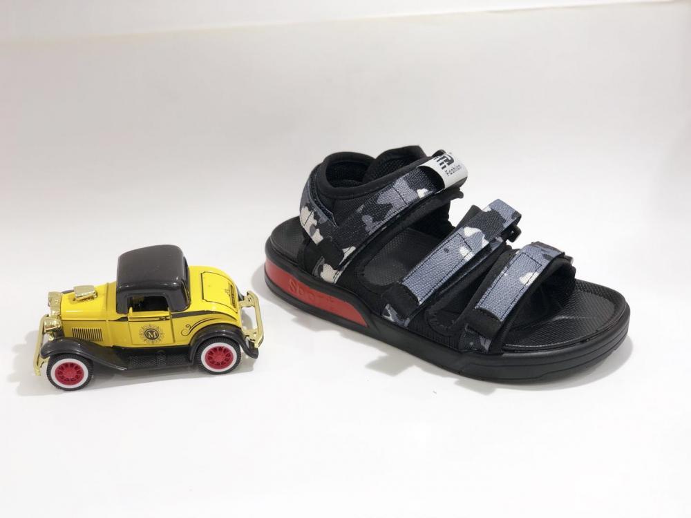 KK Kids Camouflage Sandals Boy Shoes Children Footwear Velcro  Summer Sports Shoes SKU173168B_6