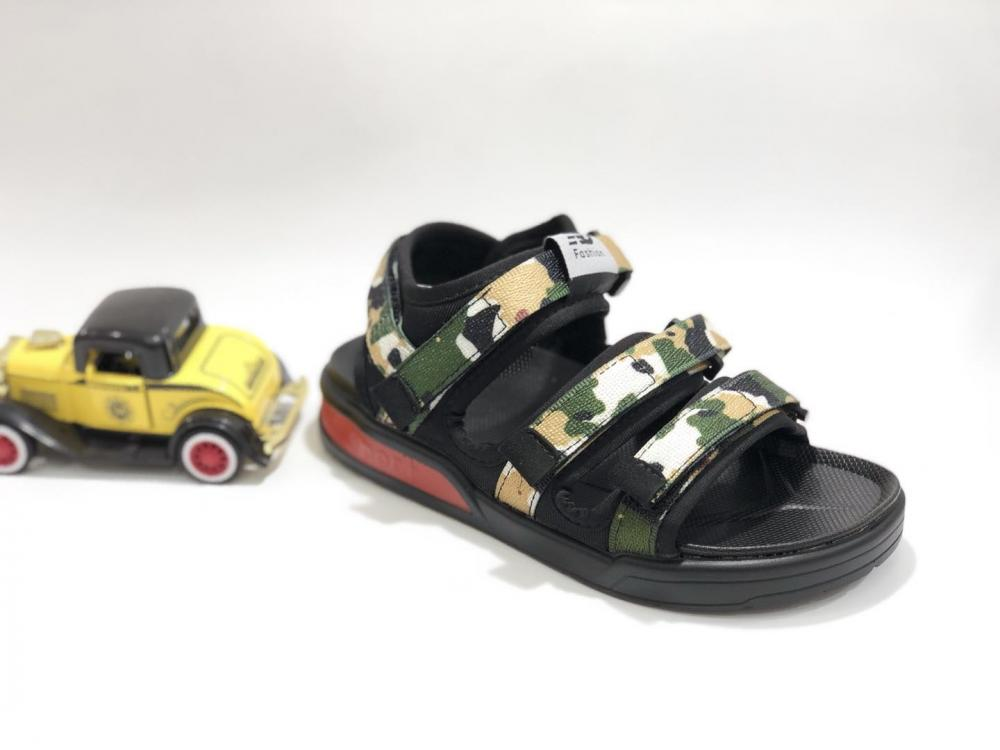 KK Kids Camouflage Sandals Boy Shoes Children Footwear Velcro  Summer Sports Shoes SKU173168B_7