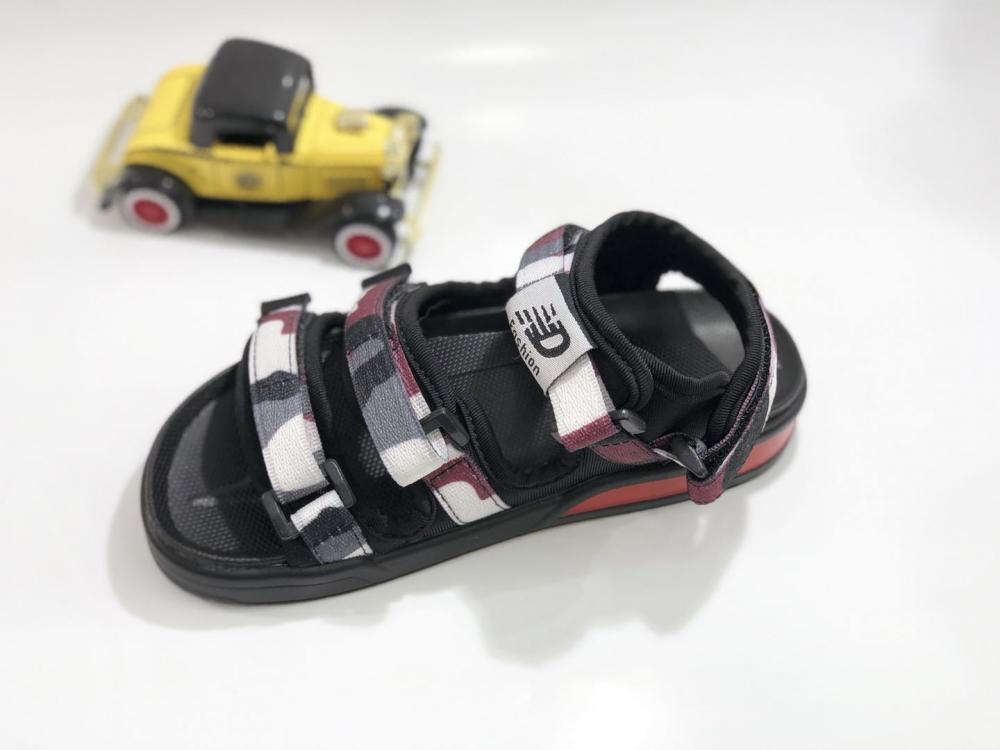 KK Kids Camouflage Sandals Boy Shoes Children Footwear Velcro  Summer Sports Shoes SKU173168B_5