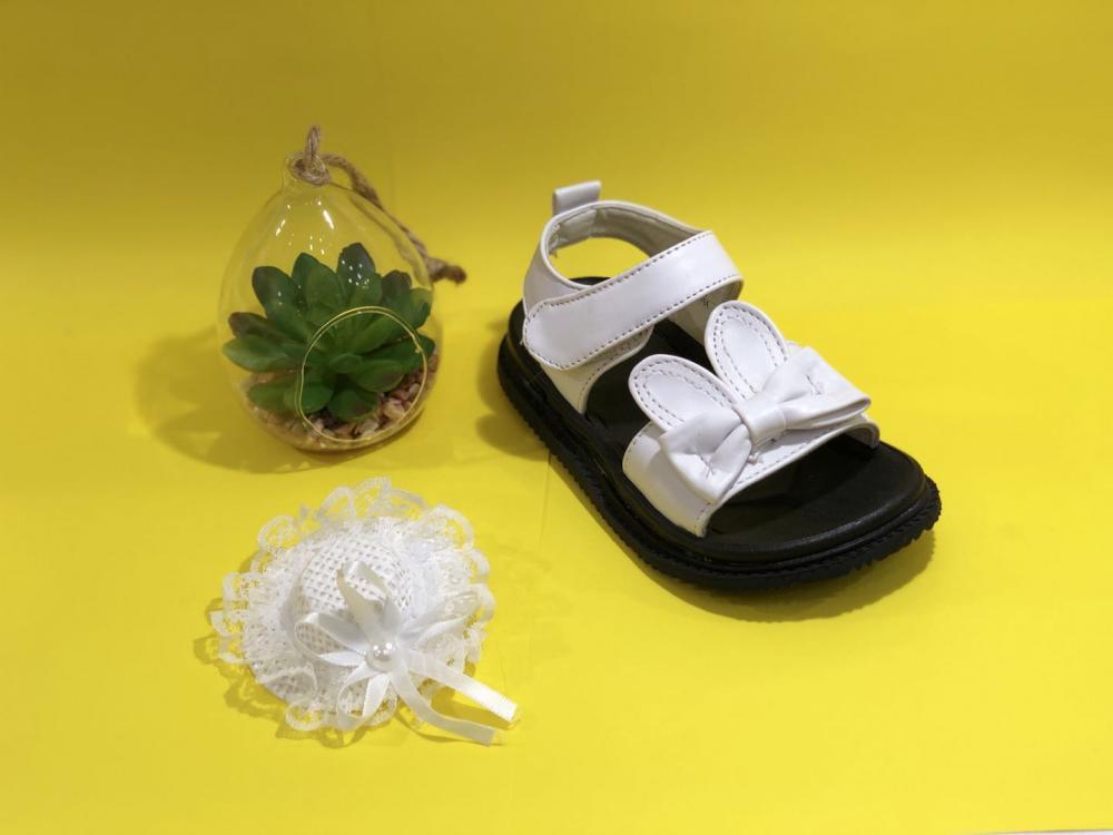 KK Kids Bunny Leather Sandals Girl Shoes Children Footwear Fashion Summer Flat Shoes SKU173212S_3
