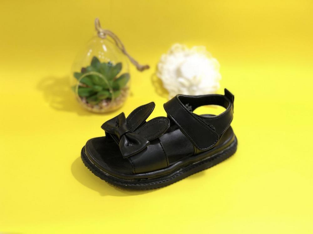 KK Kids Bunny Leather Sandals Girl Shoes Children Footwear Fashion Summer Flat Shoes SKU173212S_6