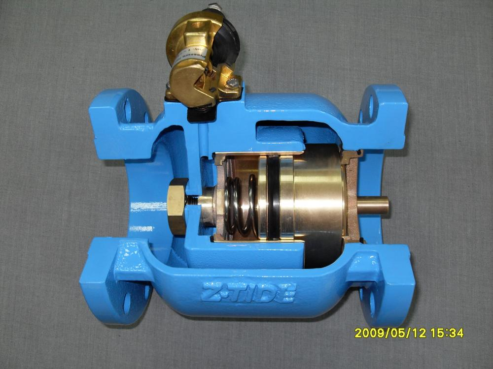 Pressure Relief Valve Ductile Iron 3 inch Flange_3