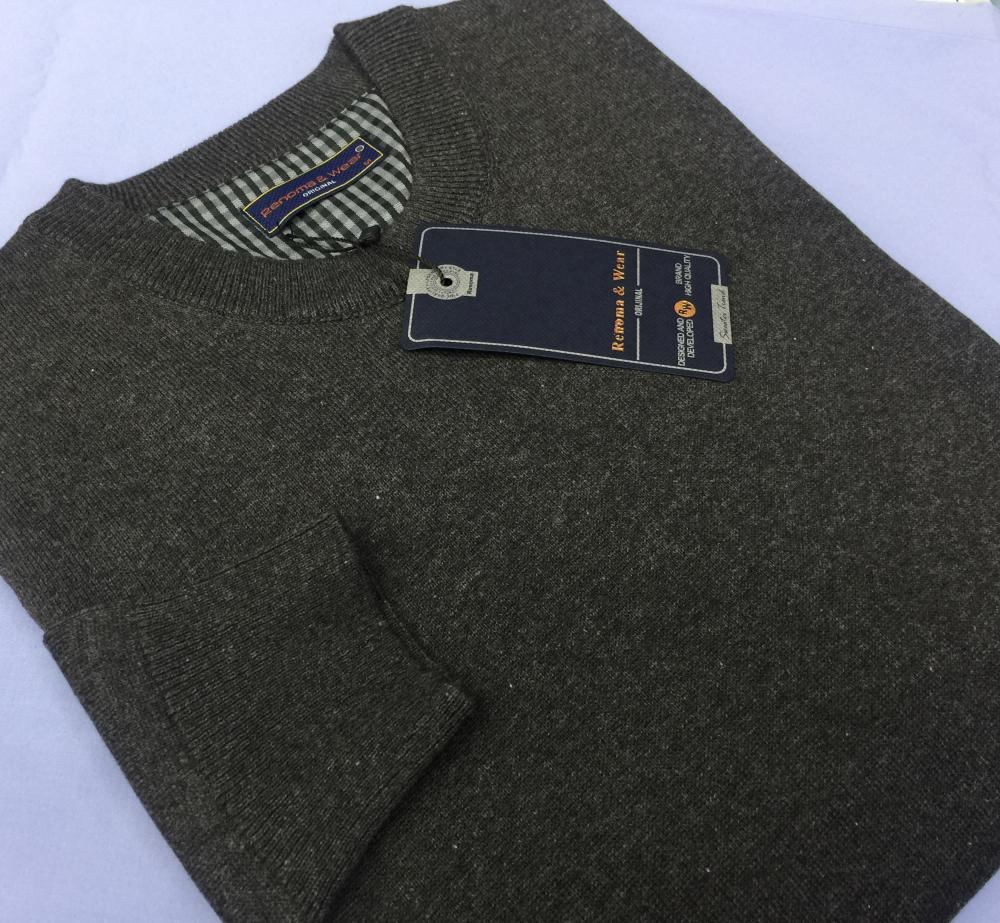 Men's 100% Cotton Plain Sweaters (V neck or 0 neck)_8